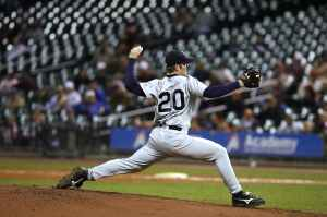 Professional baseball pitcher